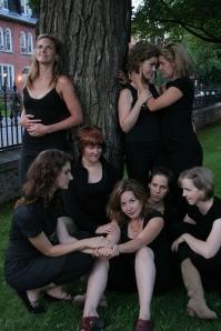 Cast of Birth - Photo by Jessica Ruano - Ottawa Arts Newsletter